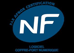 Coffre fort numérique certifié