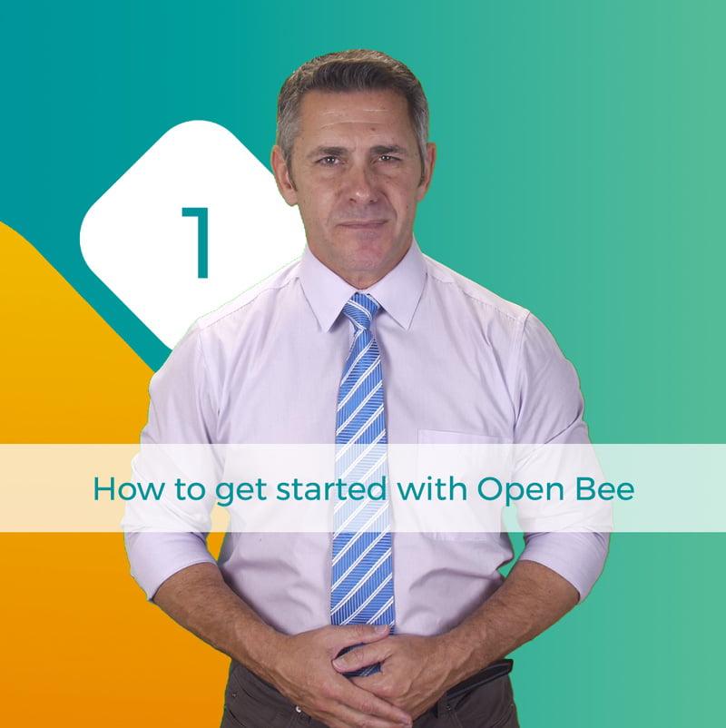 tutorial open bee