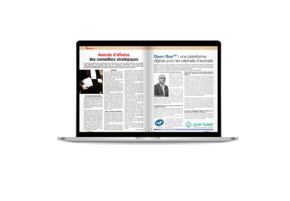 Vu dans la presse : Une plateforme digitale pour les cabinets d'avocats